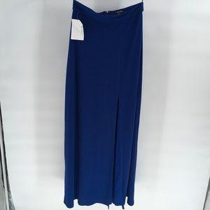 NWT Speechless Maci Long Blue Skirt 5